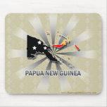 Papua New Guinea Flag Map 2.0 Mouse Pad