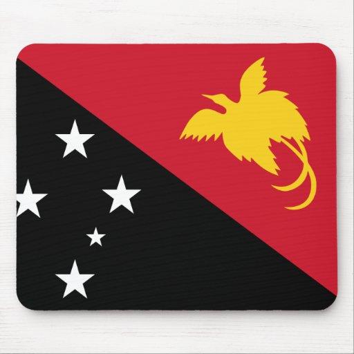 Papua New Guinea Flag Mouse Pad