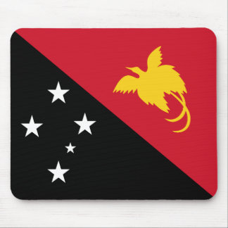 Papua New Guinea Flag Mousepad