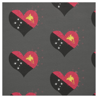 Papua New Guinea Flag Shining Unique Fabric