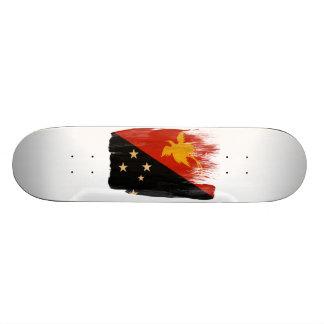 Papua new Guinea Flag Skateboard Deck
