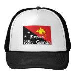 Papua New Guinea flag souvenir hat