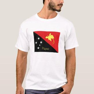 Papua New Guinea flag souvenir tshirt