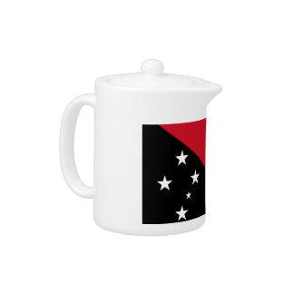 Papua New Guinea Flag Teapot