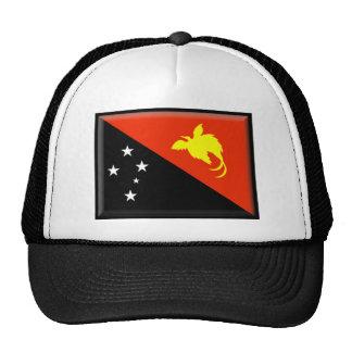 Papua New Guinea Flag Trucker Hat