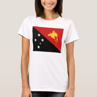 Papua New Guinea Flag x Map T-Shirt