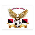 Papua New Guinea Football Designs Post Cards