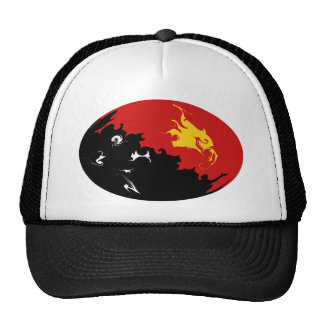 Papua New Guinea Gnarly Flag Hat