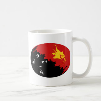 Papua New Guinea Gnarly Flag Mug
