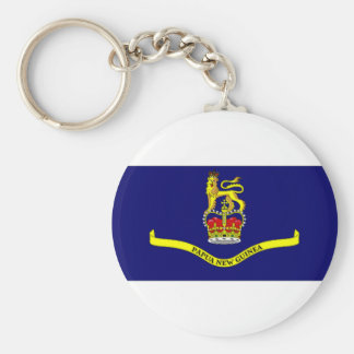Papua New Guinea Governor General Flag Keychain