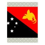 Papua New Guinea High quality Flag Postcards