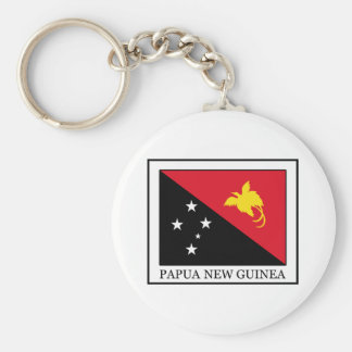 Papua New Guinea Keychain