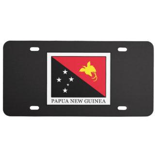 Papua New Guinea License Plate