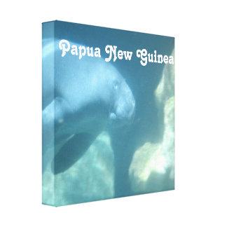 Papua New Guinea Manatee Canvas Print