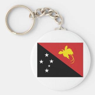 Papua New Guinea National Flag Keychain