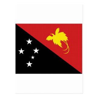 Papua New Guinea National Flag Postcard