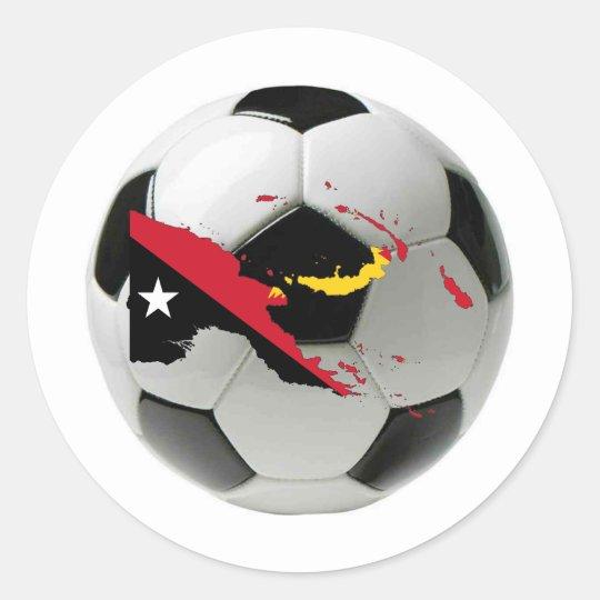 Papua New Guinea national team Classic Round Sticker