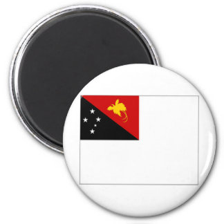 Papua New Guinea Naval Ensign 2 Inch Round Magnet