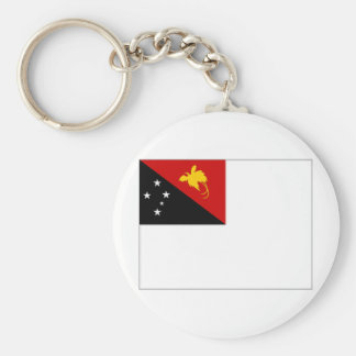 Papua New Guinea Naval Ensign Keychain