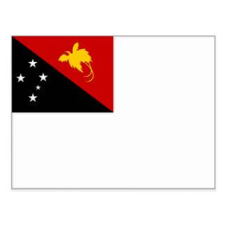 Papua New Guinea Naval Ensign Postcard