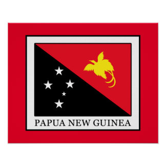 Papua New Guinea Poster