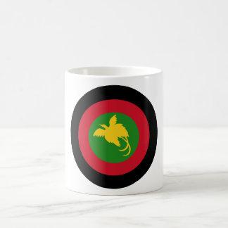 Papua New Guinea Roundel Classic White Coffee Mug