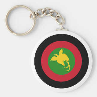 Papua New Guinea Roundel Keychain