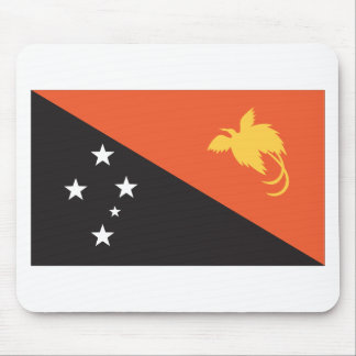 Papua New Guinean Flag Mouse Pad