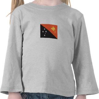 Papua New Guinean Flag T Shirt