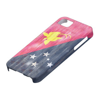 Papúa Nueva Guinea apenó la bandera Funda Para iPhone SE/5/5s