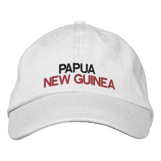 Papúa Nueva Guinea * gorra ajustable Gorro Bordado