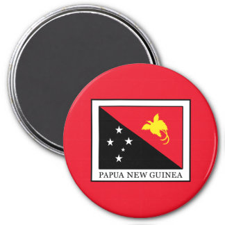 Papúa Nueva Guinea Imán Redondo 7 Cm