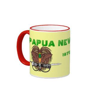 Papúa Nueva Guinea * taza de la bandera