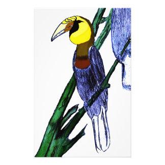 Papuan Hornbill Birds Stationery