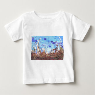Papyrus and the mid-day sky. baby T-Shirt