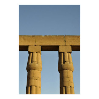 Papyrus Columns, Luxor Temple, Egypt Posters