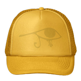 Papyrus Eye of Horus Trucker Hat