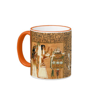 Papyrus of Ani - Book of the Dead Ringer Mug