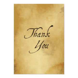 PAPYRUS PAPER THANK YOU HISTORIC EXPRESSIONS GRATI CARD