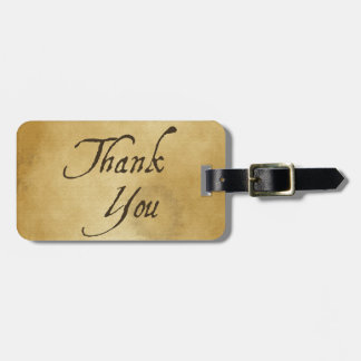 PAPYRUS PAPER THANK YOU HISTORIC EXPRESSIONS GRATI TAG FOR BAGS