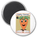 Paquete 1 de la semilla de la zanahoria de Cathy Imán Para Frigorífico