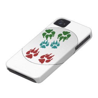 Paquete Blackberry Cas intrépido de HotterThanHell iPhone 4 Case-Mate Cárcasas