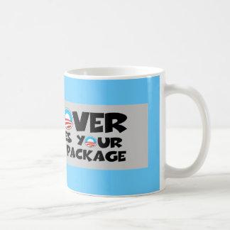 Paquete de estímulo anti de Obama Taza De Café