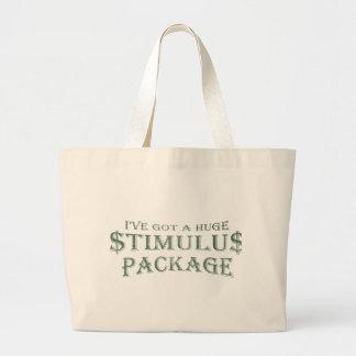Paquete de estímulo enorme bolsas