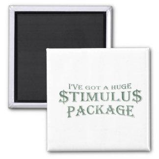 Paquete de estímulo enorme imán cuadrado