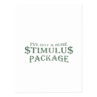 Paquete de estímulo enorme postales