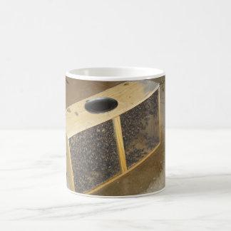 Paquete de la abeja taza básica blanca