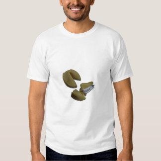 Paquete de la galleta de la suerte de diseño de camisas