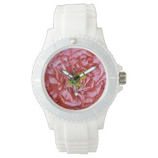 Paquete de la semilla del vintage de la amapola relojes de pulsera