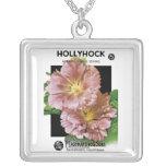 Paquete de la semilla del vintage del Hollyhock Collares